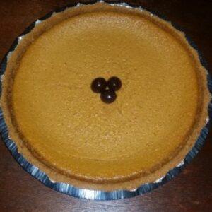 Photo of coffee liqueur sweet potato pie